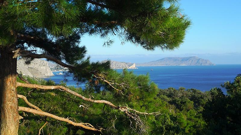 Крым, Судак, Черное море