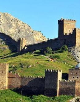 Генуэзская крепость Новый Свет